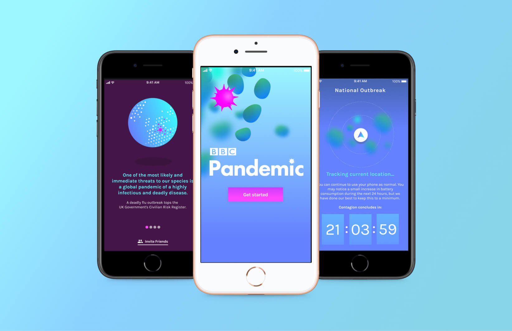 BBC Pandemic Application Design main image