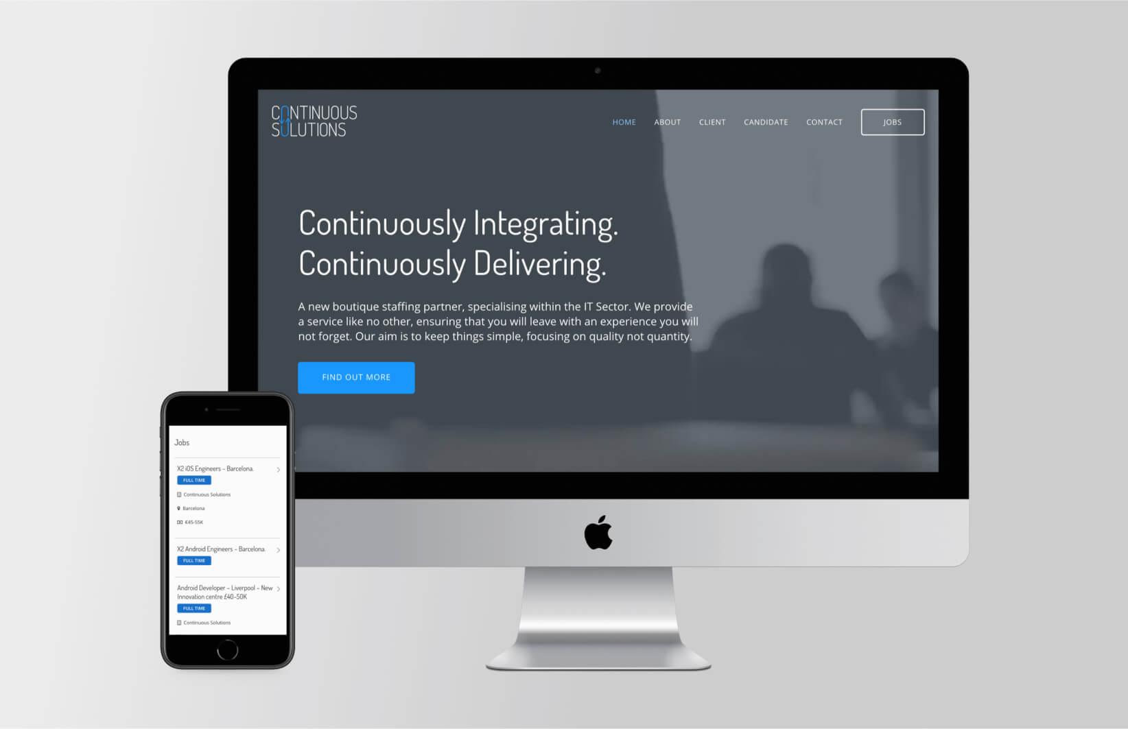 Continuous Solutions Website Design & Development main image